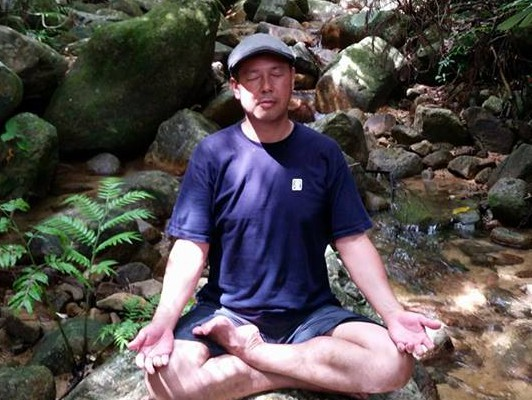 Meditation Waterfall