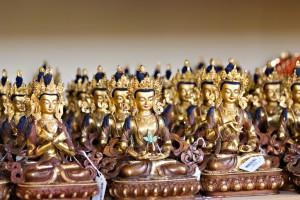 仏像をつめるワークショップ